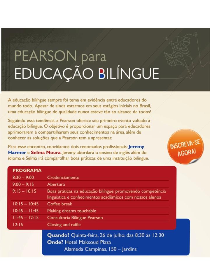 Encontro sobre Educação Bilíngue em São Paulo, 26/07/2012