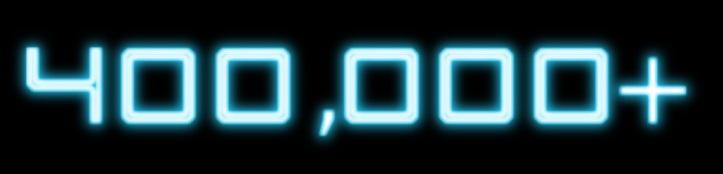 400 mil acessos no EBB!