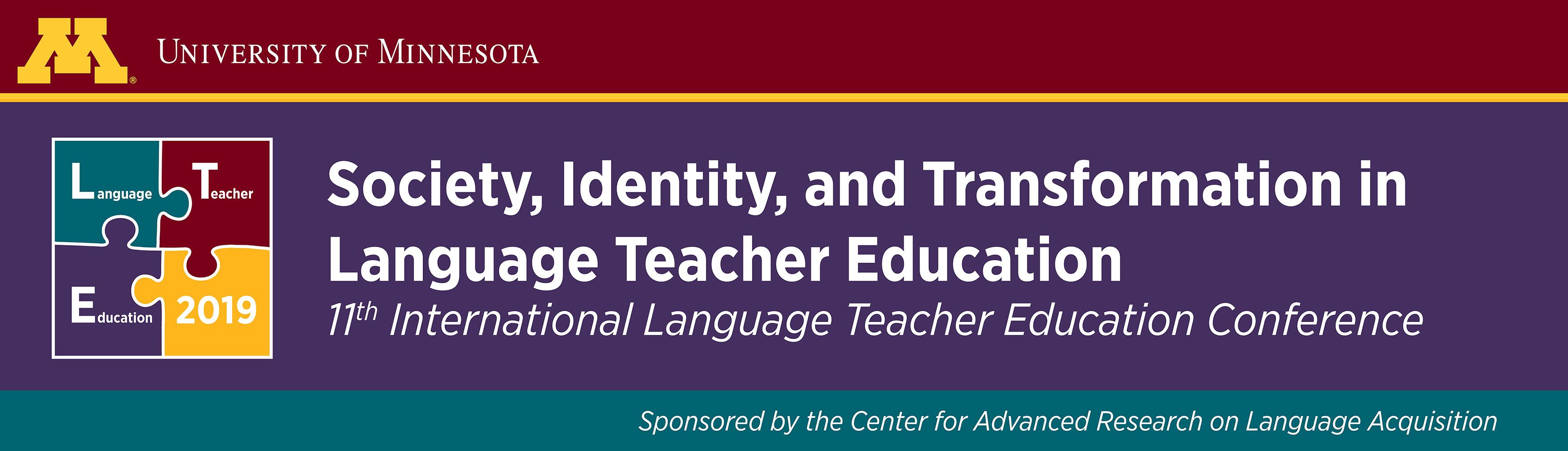11th International Language Teacher Education Conference, University